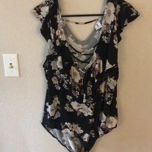 Other - Flower bodysuit